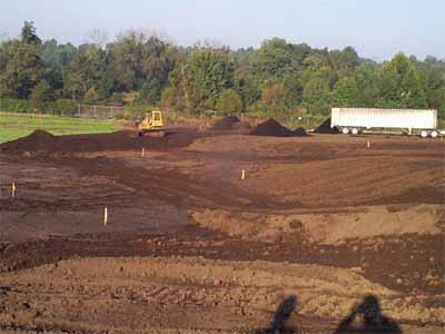 Southern Maryland Wood Treating Site: On-Site Thermal Desorption of Contaminated Soils, Final Grading and LeafGro Placement